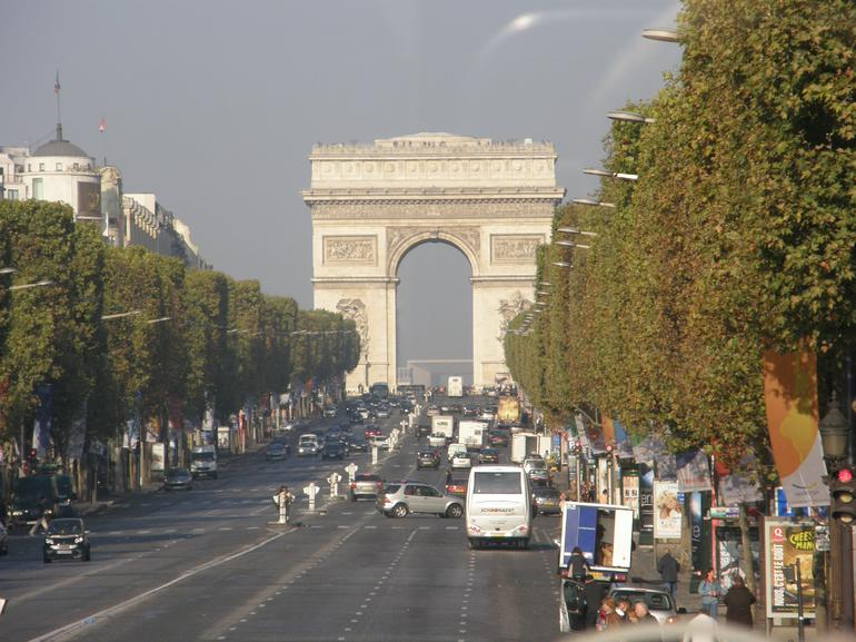 The Champs-Elysées - Paris