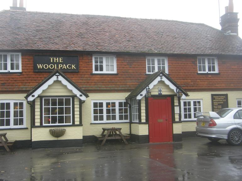 The Woolpack at Elstead - England