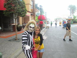 Photo of Singapore Universal Studios Singapore One-Day Pass Universal Studio Singapore meeting with BeetleJuice