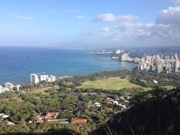 Photo of Oahu Diamond Head Crater Sunrise Small Group Adventure View from the top