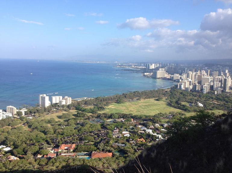 View from the top - Oahu