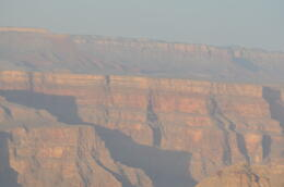Photo of Las Vegas Grand Canyon West Rim Deluxe Sunset Helicopter Tour A stunning view of the rock face..at the Canyon