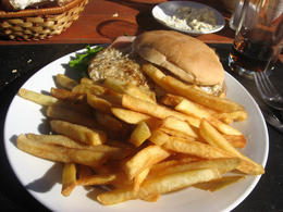 You have to order a chivito when in Uruguay!, Bandit - June 2012