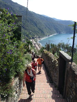 Photo of Florence Cinque Terre Hiking Day Trip from Florence more stairs