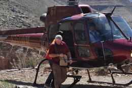 Photo of Las Vegas Ultimate 3-in-1 Grand Canyon Tour Our chopper