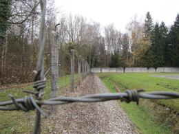 Photo of Munich Dachau Concentration Camp Memorial Small Group Tour from Munich Perimeter Fence