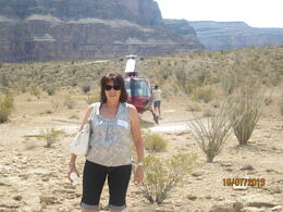Photo of Las Vegas Grand Canyon All American Helicopter Tour Sightseeing in the canyon after a great flight