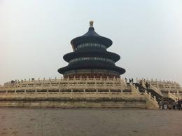 The Temple of Heaven is where the locals pray each year for a good harvest., Julie - June 2012