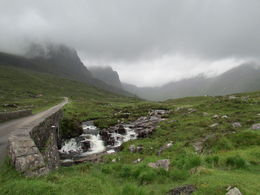 The beginning of the Bealach na Bà the highest road rise in the UK. , Audrey G - September 2015