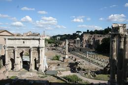 Photo of Rome Skip the Line: Ancient Rome and Colosseum Half-Day Walking Tour The Forum from the Museo Paletino