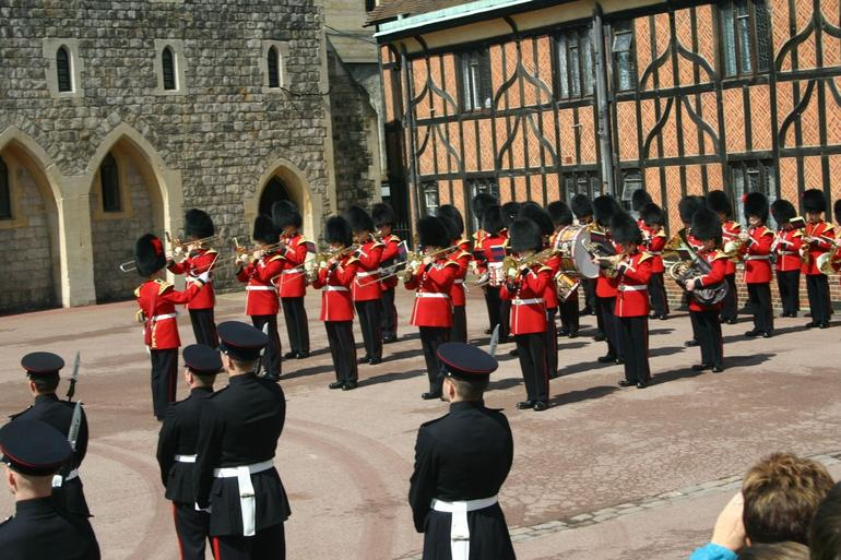 The Guard at Windsor Castle - London