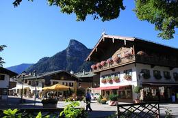Photo of Munich Royal Castles of Neuschwanstein and Linderhof Day Tour from Munich The picturesque village of Oberammergau