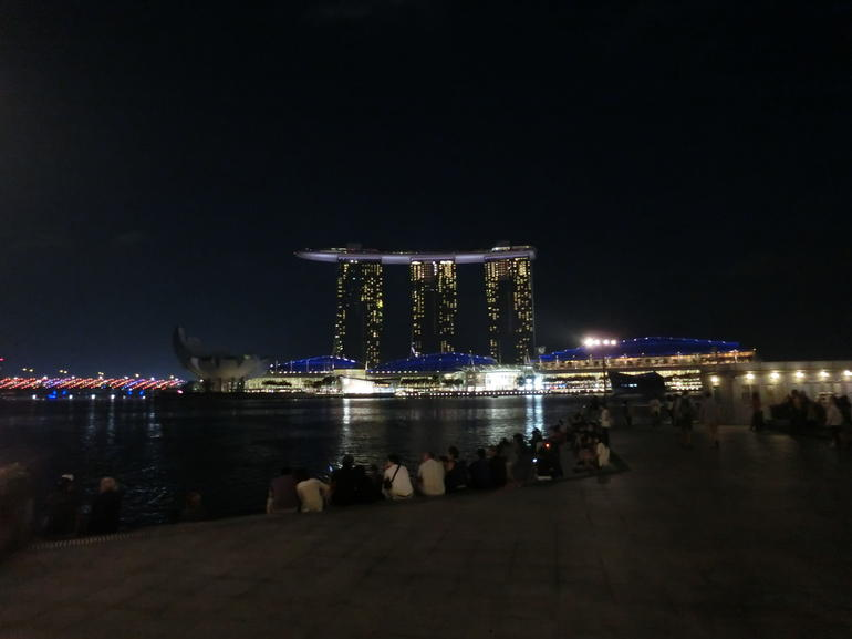 View from merlion - Singapore