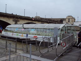 Photo of Paris Seine River Hop-On Hop-Off Sightseeing Cruise in Paris Walking to boat stop