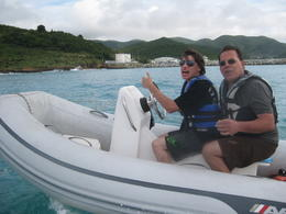 Photo of Philipsburg Rock 'n Roll Snorkel and Sightseeing Safari of St. Martin Zipping along