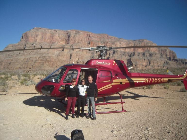 arr�t au grand canyon - Las Vegas