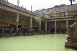 Visiting the Roman Baths , Adriana P - September 2013