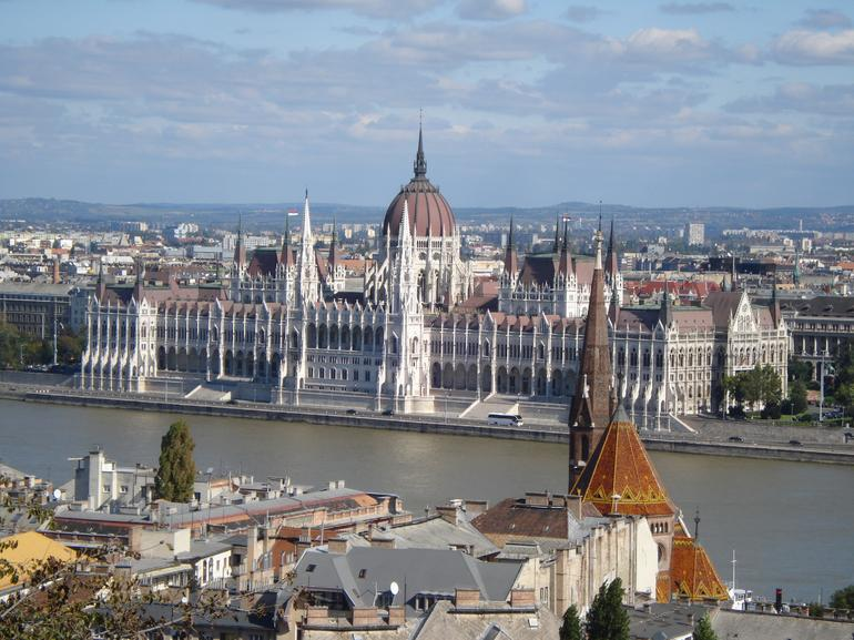 Impressive view of Pest, from Buda side