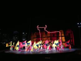 A spectacular burst of color! Unexpected and beautiful fireworks! 2013 opera season., Cat - March 2013