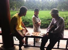 Locals playing Chinese chess., Julie - June 2012