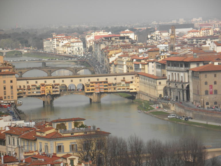 During the tour - Florence