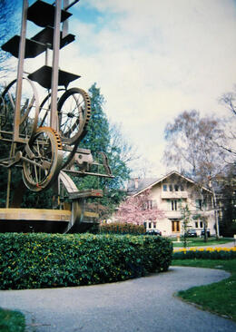 Photo of   On the grounds of Musee de l'Horlogerie, Geneva
