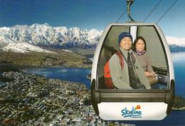 Photo of Queenstown Queenstown Skyline Gondola and Restaurant On the way up to the restaurant
