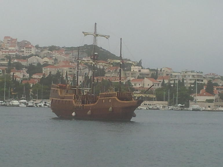 Our boat! - Dubrovnik