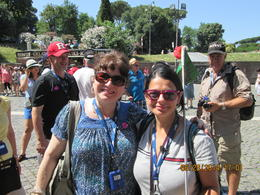 Photo of Rome Skip the Line: Ancient Rome and Colosseum Half-Day Walking Tour Our Guide Elizabetta and Me