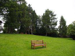 The garden of the Dunkeld Cathedral near the River Tay, Keiko M - September 2010