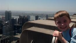Photo of New York City Top of the Rock Observation Deck, New York The five-year-old approves!