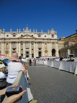 Photo of Rome Papal Audience Ticket at Vatican City The runway