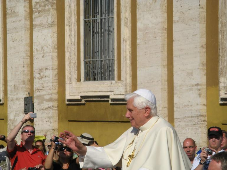 Audience with the Pope - Rome