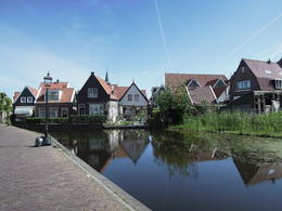 Photo of Amsterdam Amsterdam Super Saver: Zaanse Schans Windmills, Delft and The Hague Day Trip beautiful houses along the streets