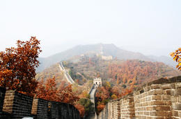 Autumn is a great season to visit Beijing, especially the Great Wall - May 2012