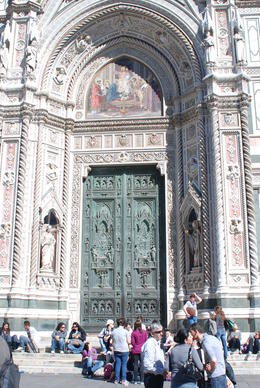Photo of Florence Florence Half-Day or Full-Day Sightseeing Tour Cathredal doors Flornece 2011