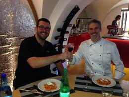 Photo of Rome Small-Group Cooking Lesson in Rome E a melhor parte...