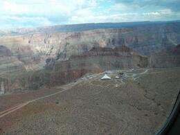 Coming in to land at the West Rim of the Grand Canyon, Astrolover - November 2011