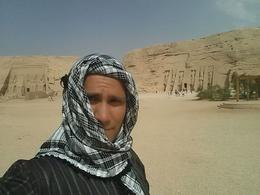 Me in my gabalya that I bought up north in Cairo! , Cody S - May 2014