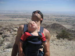 hiking, and sleeping in Joshua Tree, CA (Ryan and Taj) , anok - March 2011