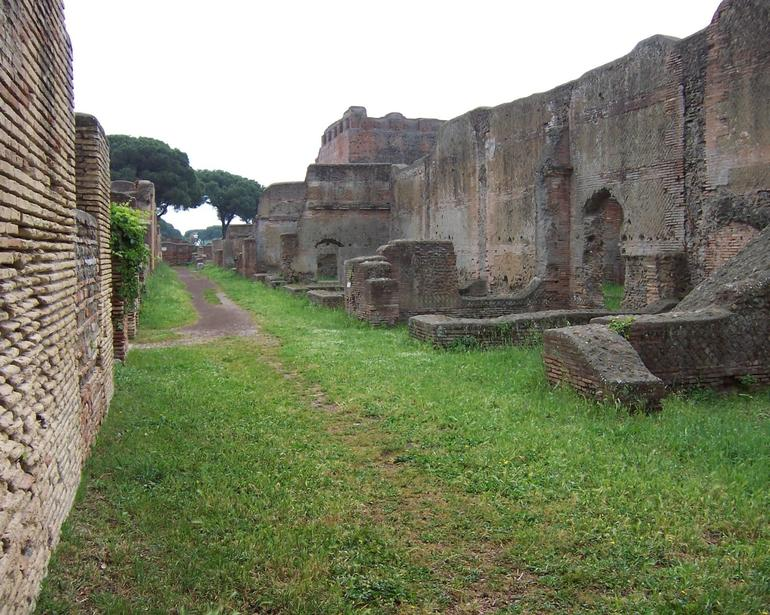 Main Street in Ostia - Rome
