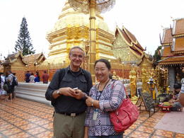 Photo of Chiang Mai Wat Doi Suthep Temple and White Meo Hilltribe Village Half-Day Tour from Chiang Mai most competent guide