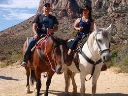 Photo of Las Vegas Old Spanish Trail Horseback Ride with Lunch ON THE TRAIL