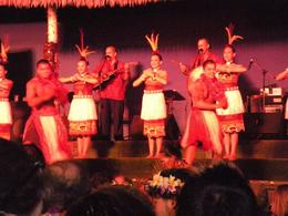 Traditional Hawaiian dancers - January 2010