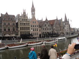 The view of main cathedral in Bruges , Mikhail S - October 2013