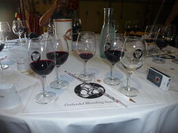 Photo of San Francisco Semi-Private Boutique Wine Country Tour with Personal Wine Blending The set up at Ravenswood