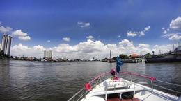 Photo of Bangkok Thailand's Ayutthaya Temples and River Cruise from Bangkok View from the Chao Praya River