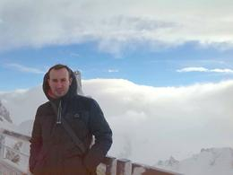 Myself at what felt like the top of the world. It's so beautiful and peaceful up there. , Zachary A - February 2014
