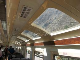 The windows on the Vistadome train allowed for great views of the countryside. You pass through farmland, mountains and jungle on the way to Machu Picchu and the views are spectacular. I would highly ... , Bandit - December 2010