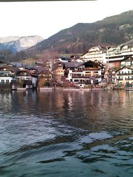 A beautiful view from the boat ride in St. Wolfgang. , Nicole - December 2014